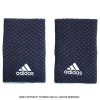 アディダス(adidas) ダブルワイド グラフィックリストバンド ミステリーブルー/ホワイト S97834