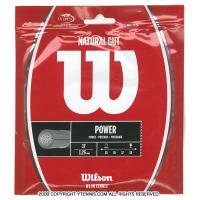ウイルソン(Wilson) ナチュラルガット 17G (NATURAL 17) テニスガット パッケージ品