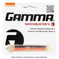 【ツインタイプで衝撃吸収能力UP】ガンマ(GAMMA) ショックバスターII ダンプナー オレンジ/ブラック