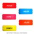 【新パッケージ】バボラ(BabolaT) カスタムリング アソート60個セット グリップバンド 710026の画像3