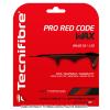 【12mカット品】テクニファイバー(Tecnifiber) プロレッドコードWAX (Pro Red Code WAX) 1.30mm/1.25mm/1.20mm ポリエステルストリングス レッド テニス ガット ノンパッケージ