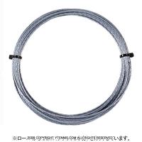 【12mカット品】ソリンコ(SOLINCO) ツアーバイトダイヤモンドラフ(Tour Bite Diamond Rough) 1.30mm/1.25mm/1.20mm ポリエステルストリングス シルバー テニス ガット ノンパッケージ
