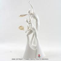 80パーセントOFF!北京オリンピック テニス (Beijing Olympic)世界限定 陶器製 モニュメント