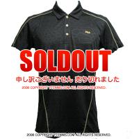 セール品 フィラ(Fila) メンズ パシフィック ポロシャツ ブラック/イエロー