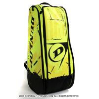 ダンロップ(Dunlop) レボリューション(Revolution NT ) テニスバッグ ラケット10本収納 ネオンイエロー 国内未発売カラー ラケットバッグ