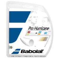【12mカット品】バボラ(Babolat)プロハリケーン 1.30mm/1.25mm/1.20mm ポリエステルストリングス ナチュラルカラー テニス ガット ノンパッケージ