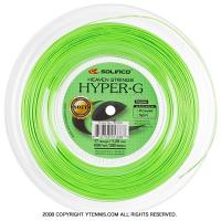 ソリンコ(SOLINCO) ハイパーG ソフト(HYPER G Soft) グリーン 1.30mm/1.25mm/1.20mm/1.15mm 200mロール ポリエステルストリングス