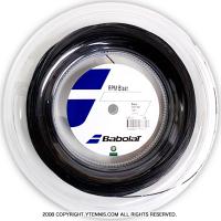 バボラ(Babolat) RPMブラスト(RPM Blast) 1.30mm/1.25mm/1.20mm 200mロール ポリエステルストリングス ブラック ラファエル・ナダル使用モデル