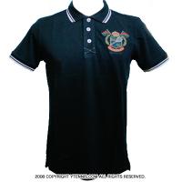 セール品 ROLEX MASTERS モンテカルロ ロレックスマスターズ開催地MCCCオフィシャル ポロシャツ ブルーマリーン