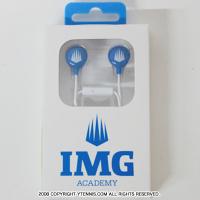 IMG(ニック・ボロテリー テニスアカデミー) オフィシャル ロゴ入り イヤホン