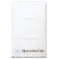 メルセデスカップ(Mercedes Cup)オフィシャル商品 プリントロゴ タオル ホワイト 国内未発売
