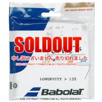 バボラ(BabolaT) トニック+ ロンジビティ (1.35mmより太い) BT7 ナチュラル ストリングス Tonic+(プラス) テニス用品 パッケージ品