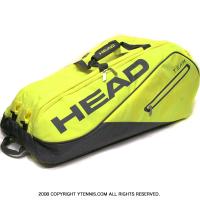 ヘッド(Head) ネオンイエロー モンスターコンビ 海外限定モデル 12本用 テニスバッグ ラケットバッグ