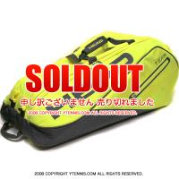 セール品 ヘッド(Head) ネオンイエロー モンスターコンビ 海外限定モデル 12本用 テニスバッグ ラケットバッグ