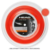 ヘッド(HEAD) リンクス ツアー(LYNX TOUR) オレンジ 1.25mm/1.30mm 200mロール ポリエステルストリングス