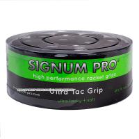 【新品アウトレット】シグナムプロ(SIGNUM PRO) ウルトラタックグリップ(ULTRA TAC GRIP) ブラック 30パック 0.70mm オーバーグリップテープ