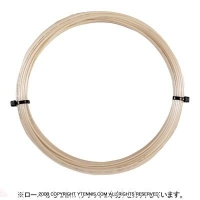 【12mカット品】ポリファイバー(Polyfibre) ツアープレイヤー ラフ(Tour Player Rough) ナチュラル 1.25mm ポリエチレンストリングス テニス ガット ノンパッケージ