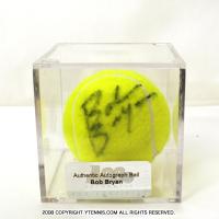 エース(ACE)ボブ・ブライアン (Bob Bryan) 自筆サインボール ACE製