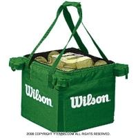 ウイルソン(Wilson) テニスボール 収納バッグ 150球収納可能 グリーン