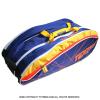 【超激レアモデル!】トップスピン(TOPSPIN) 海外限定カラー サーモ機能付 Velpex テニスバッグ 12本用 パープル/イエロー 国内未発売 ラケットバッグ