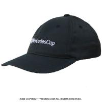 セール品 メルセデスカップ(Mercedes Cup)オフィシャル商品 ビッグロゴ キャップ ブラック 国内未発売