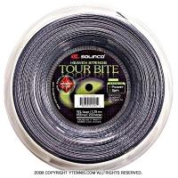 ソリンコ(SOLINCO) ツアーバイトダイヤモンドラフ(Tour Bite Diamond Rough) 1.30mm/1.25mm/1.20mm 200mロール ポリエステルストリングス シルバー