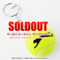 Wimbledon(ウィンブルドン) オフィシャル商品 スラセンジャー ミニテニスボールキーリング イエロー 全英オープンテニス