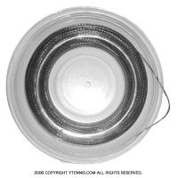 【12mカット品】OEM ポリラフ加工ガット 1.25mm ポリエステルストリングスブラックテニス ガット ノンパッケージ