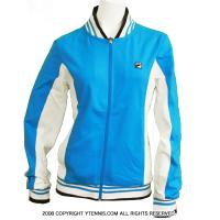 フィラ(Fila) ビンテージ ボルグモデル テニスウェアー ジャケット レディース ブルー