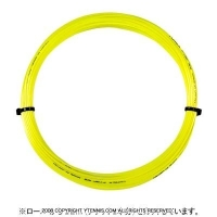 【12mカット品】ヨネックス(YONEX) ポリツアープロ(Poly Tour Pro) 1.30mm/1.25mm ポリエステルストリングス イエロー テニス ガット ノンパッケージ