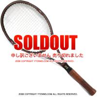 ウイルソン(WILSON) ヴィンテージラケット ジャック・クレーマー スタッフ テニスラケット 木製 ウッドラケット
