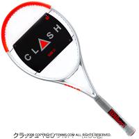ウイルソン(Wilson) 2021年 クラッシュ 100 シルバー (295g) 16x19 (Clash 100 Silver Edition Limited) WR077511 テニスラケット