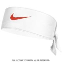 ナイキ(Nike)ドライフィット ヘッドタイ ロンドン ホワイト/ハバネロレッド