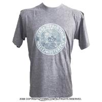 セール品 Gerry Weber Open(ゲリー・ウェバー・オープン) オフィシャル商品 ロゴ入り プリントメンズTシャツ グレー