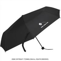 セール品 Gerry Weber Open(ゲリー・ウェバー・オープン) オフィシャル商品オフィシャル記念グッズ 折りたたみ傘 アンブレラ ブラック