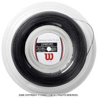 ウイルソン(WILSON) センセーション プラス(SENSATION PLUS) ブラック 1.34mm/1.28mm 200mロール ナイロンストリングス