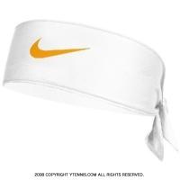 ナイキ(Nike)ドライフィット ヘッドタイ ロンドン ホワイト/ゴールドリーフ