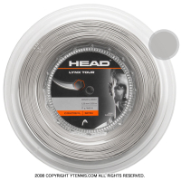 ヘッド(HEAD) リンクス ツアー(LYNX TOUR) グレー 1.25mm/1.30mm 200mロール ポリエステルストリングス