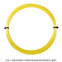 【12mカット品】ゴーセン(GOSEN) Gツアー3(G-TOUR 3) ソリッドイエロー 1.18mm/1.23mm ポリエステルストリングス テニス ガット ノンパッケージ