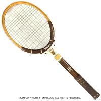 ヴィンテージラケット ウイルソン(WILSON) ビリー・ジーン・キング オートグラフ Billie Jean King autograph 木製 テニスラケット