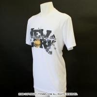 アディダス(adidas) USオープン グラフィックデザイン Tシャツ ホワイト