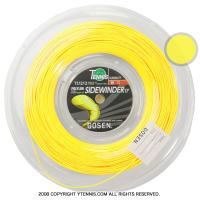 ゴーセン(GOSEN) エッグパワー(EGGPOWER / SIDEWINDER) イエロー 1.22-1.24mm 200mロール (海外名サイドワインダー)