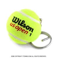 ウイルソン(WILSON) USオープン テニスボールキーリング ばら売り 1個 ノンパッケージ テニス大会景品にも最適
