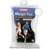 【ウェットタイプ】トーナ(TOURNA) メガタック XL(MEGA TAC XL) ホワイト オーバーグリップ(28mm幅) 10個パック