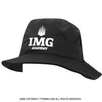 アンダーアーマー(UNDER ARMOUR)×IMG(ニック・ボロテリー テニスアカデミー) オフィシャル coldblack ロゴ入りハット ブラック