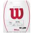 【在庫処分特価】ウイルソン(WILSON) リボルブ(REVOLVE) 1.25mm ブラック パッケージ品 テニス ガットの画像1