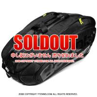 セール品 バボラ(BabolaT) チームエクスクルーシブ テニスバッグ 12本用 TEAM EXCLUSIVE ブラック バックパック機能あり 国内未発売 ラケットバッグ