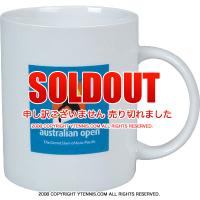 全豪オープンテニス オフィシャル商品 ロゴ入り セラミックマグカップ オーストラリアンオープン