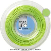 ルキシロン(LUXILON) アルパワー(ALU POWER) ライム 1.25mm 200mロール ポリエステルストリングス