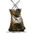 セール品 ロット(Lotto) アグニエシュカ・ラドワンスカ着用モデル ラックスウーマン テニスドレス ゴールドの画像2